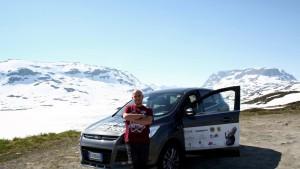 Manuel Giuge in viaggio verso Capo Nord, con la raccolta fondi per AICa3 ONLUS