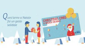 Christmas Card Rete del Dono: il regalo solidale di natale