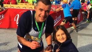 Fabio Bartocci runner solidale per Sport Senza Frontiere