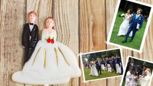 Francesca e Cosimo, matrimonio solidale per l'amico Luca-