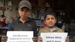 Solidarietà e Rete. Un crowdfunding a sostegno dell'Afrin-