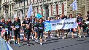 i Runner di Rare Partners: un'associazione che si occupa di supporto alla ricerca sulle malattie rare