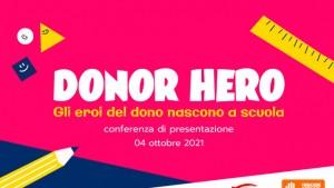 Donor Hero: gli eroi del dono nascono a scuola-