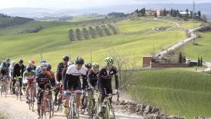Strade Bianche 2020, il ciclismo in gara per l'ambiente-