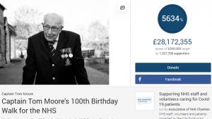 Tom, 100 anni e 28 mln raccolti per il sistema sanitario-