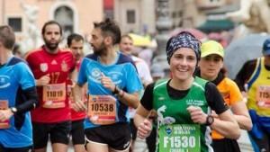 Chiara di corsa a Roma per i bambini malati di cancro-