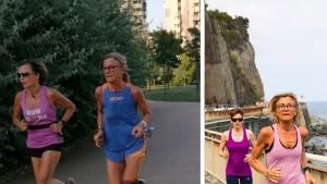 2 maratone in un mese: Maria Teresa, fundraiser senza età-