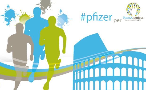 Pfizer sosterrà RomAltruista con il suo running team durante la Maratona di Roma