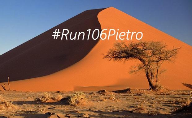 Correre 106 km nel deserto per raccogliere fondi per il figlio