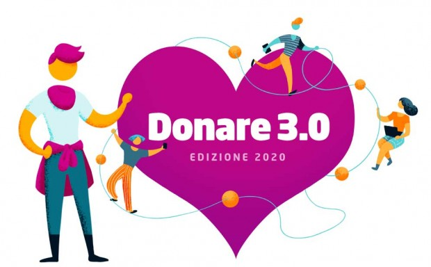 Donare rende felice; ricerca Donare 3.0 ed. 2020-