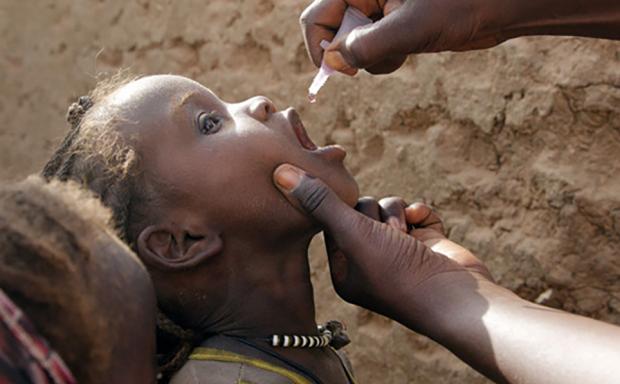 Il Rotary unito per eradicare la poliomielite -