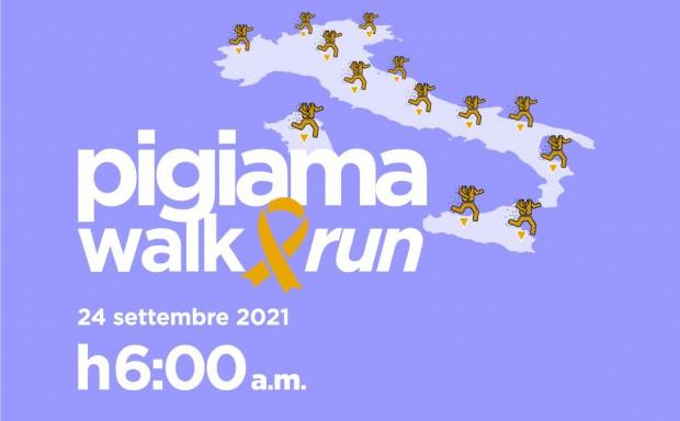 Digital e live: Pigiama Walk&Run 2021 conquista tutta Italia-