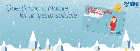 Scopri la Christmas Card di Rete del Dono-